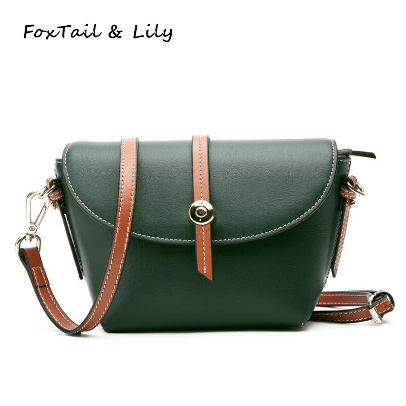 8732f0302b1c FoxTail   Lily Luxury Designer Genuine Leather Women Mini Shoulder Bag  Ladies Fashionable Crossbody Messenger Bags High Quality Rosetti Handbags  Name Brand ...
