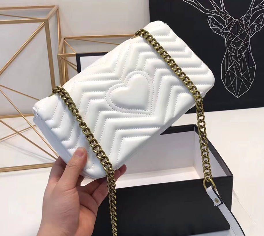 0df844fad6bd Zig Zag Women Marmont Small Shoulder Bag Leather Top Handle Messenger Bag  Top Quality Lady Matelassé Shoulder Crossbody Bag Purses Designer Handbags  From ...