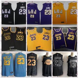 12d26bc1cde8 Los Angeles Lakers 23-Lebron James Fans 18-19 Season Adult Mesh ...