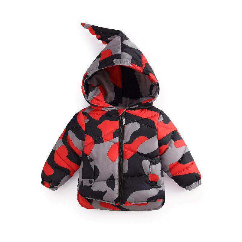 3abc1c8f9 Children S Winter Jackets Camouflage Hooded Coat Kids Cotton Padded ...