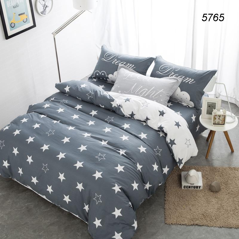 Stars Brief Bedding Sets Qeen Size Bed Covers Cotton Quilt Cover Bed