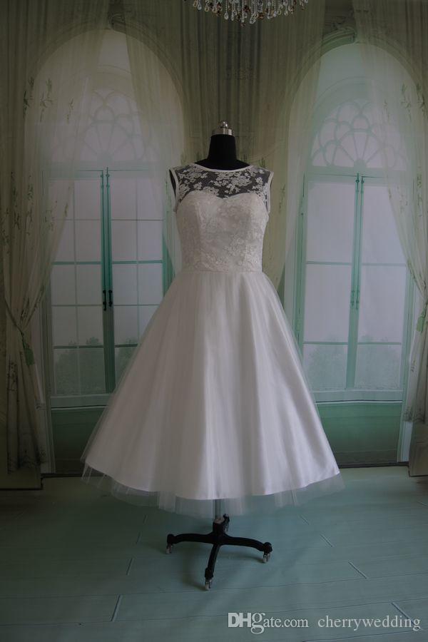 Vintage Inspired Wedding Dress 50s style dresses 1950 s Vintage Wedding  Dresses Plus Size Wedding Gowns Rockabilly Bridal Dresses RLL042