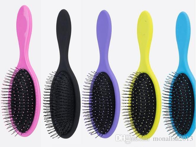 Nasses trockenes Haar-Bürsten-Haar Detangler-Bürsten-Massage-Kamm mit Airbags kämmt für nasse Haar-Duschbürste 2018
