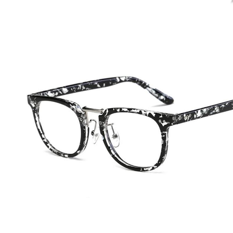 82273f5c88aa 2019 2018 Hot Sale Vintage Glasses Frame Men Women Fashion Oval ...