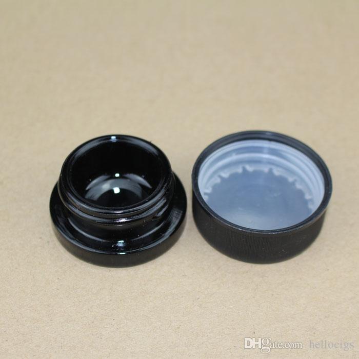 Flacone in vetro ultravioletto nero da 5 ml 0,17 fl oz con coperchio a prova di bambino a prova di bambino