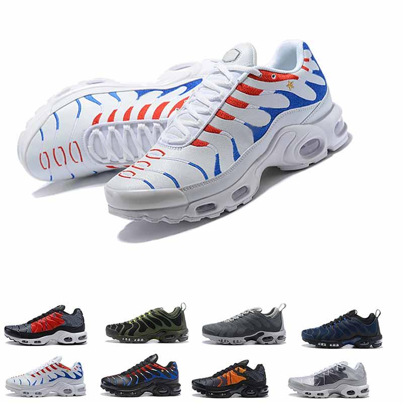 6cae364ab7c01 2018 New Original Plus Tn Men Casual Shoes Champions Cup White ...