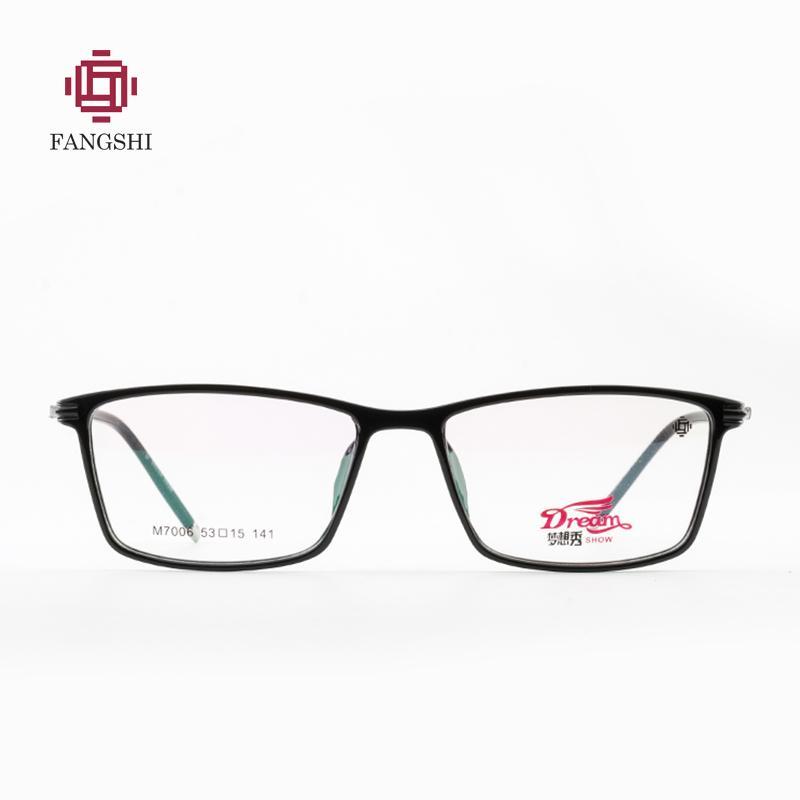 36647dd4188 2019 TR90 Men s Glasses Frame Optical Frame Eyeglasses Clear Prescription  Eyewear Male Oculos De Grau High Quality  FM7006 From Hermane