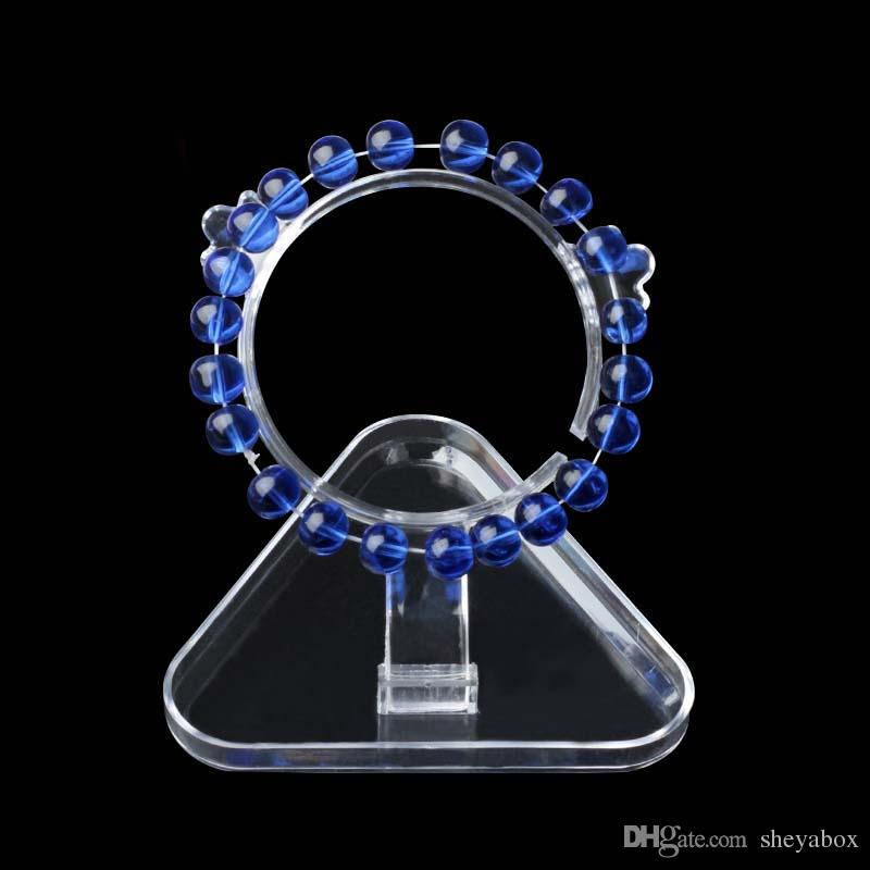 Mücevherat Bileklik Bileklik Ekran Tutucu Basit Takı için Ucuz Fiyat Akrilik Boncuk Bilezikler Klip El Sanatları Pazar Kiosk Booth Sergi