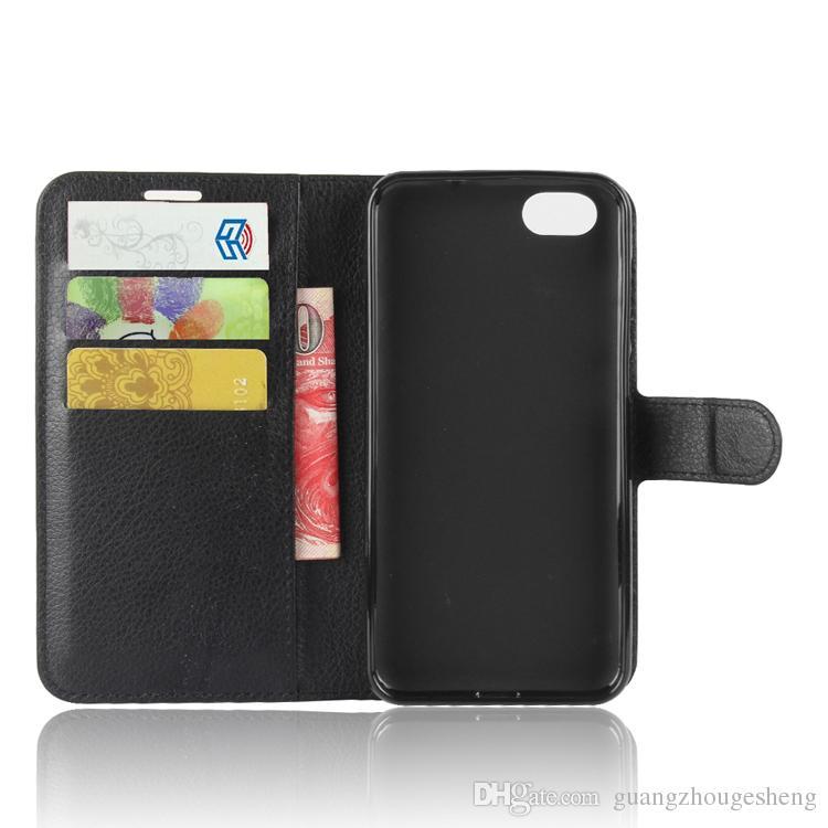 Pour ZTE Blade L210 A6 Lite Cuir Portefeuille Portefeuille Flip Couvercle avec porte-carte Nouveaux articles chauds 2020