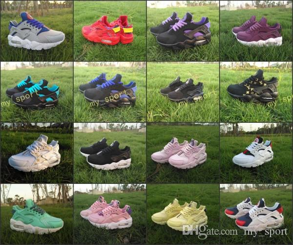 5e39e6ccce2fa New Youth Kids Air Huarache Sneakers Shoes For Boys Grils Authentic All  White Children S Trainers Boots Huaraches Sport Running Shoes Shop Shoes  Men Shoes ...