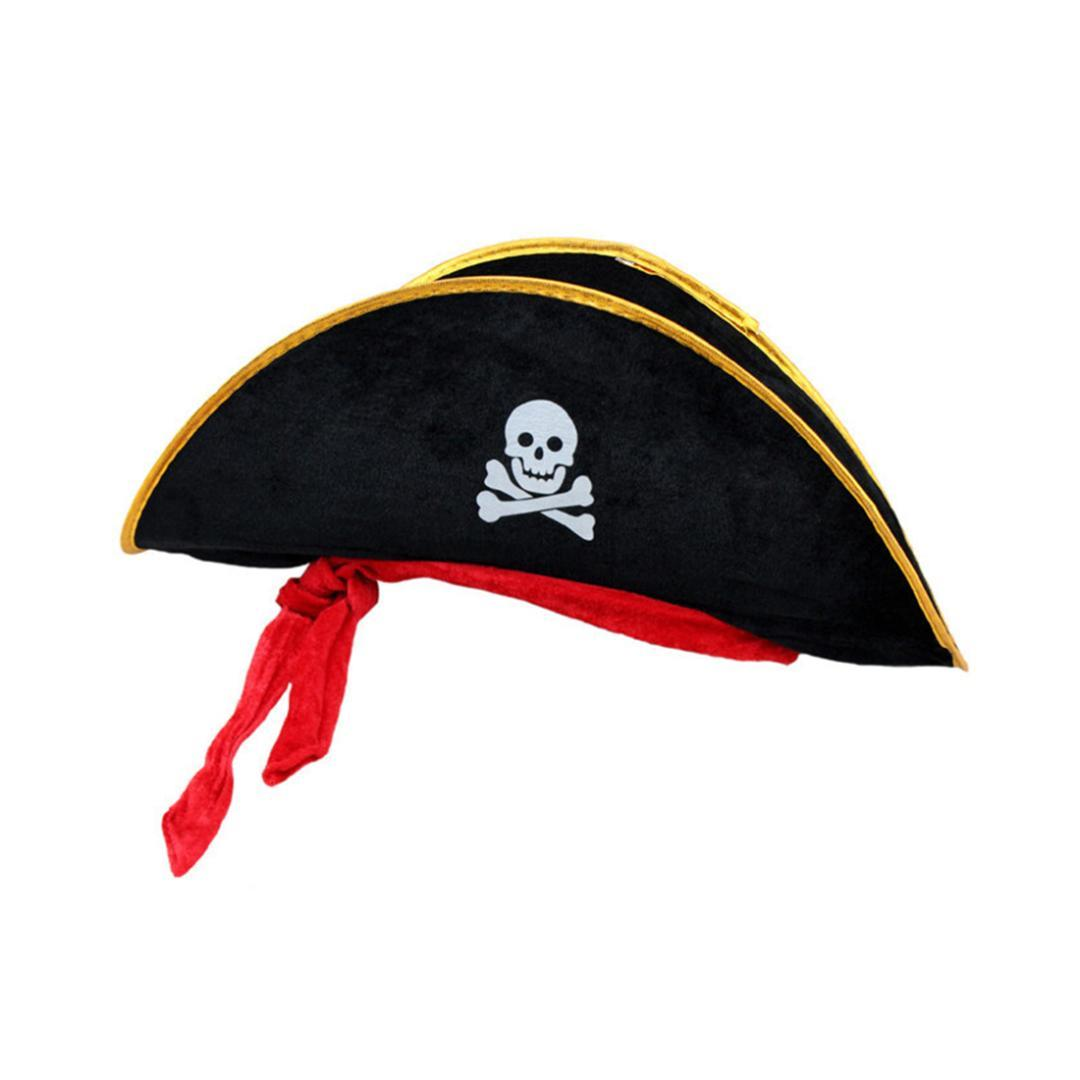 6efd416e2af New Arrival Halloween Accessories Skull Hat Caribbean Pirate Hat ...