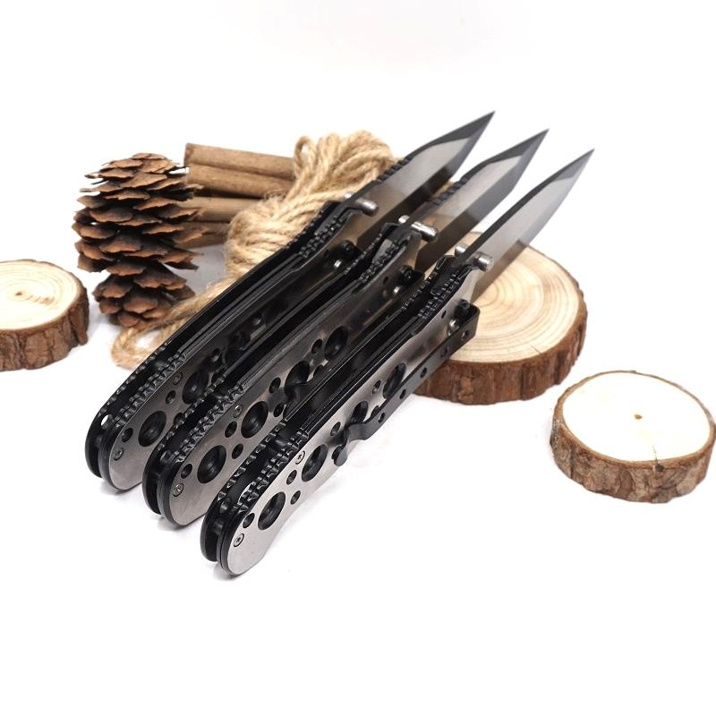 Hot Folding Pocket Knife Outdoor Camping Tactical Knives 440 Stainless Steel Blade Survival Hunting Knife EDC Multi Tool