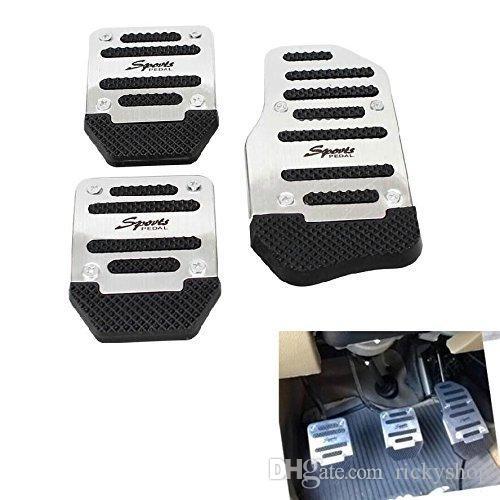 Universal Sports Non-Slip Car Pedal Manual Series kit Brake Pad Cover