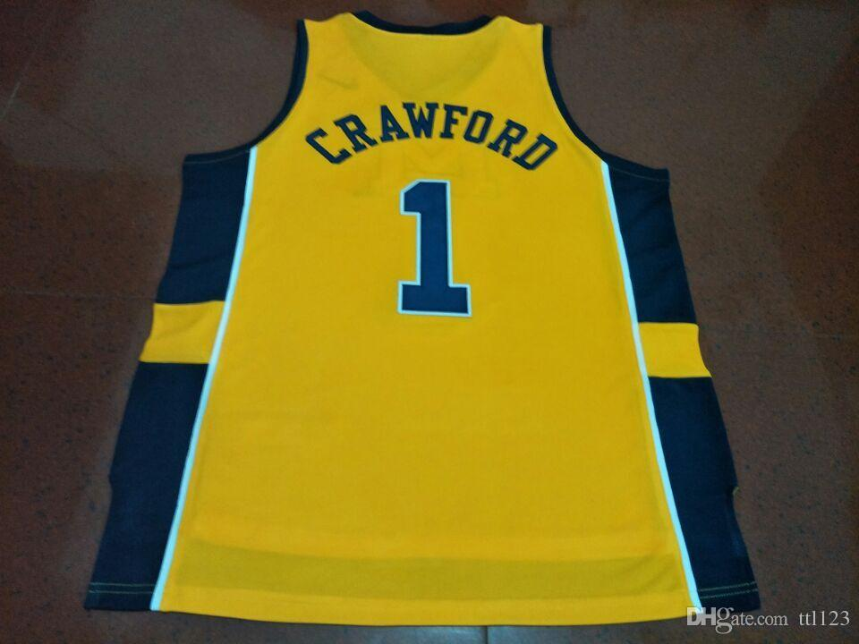 42c6d0f54 2019 Cheap Men  1 Jamal Crawford Michigan Wolverines College Jersey Size S  4XL Or Custom Any Name Or Number Jersey From Ttl123