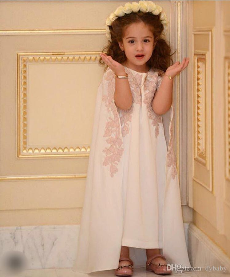 12f738fc6 Girl Dress 2018 Cheap Plus Size Flower Girl Dresses Toddler Pageant Dresses  Ivory Bridal Shoes Kids Wedding Dresses From Dybaby, $126.64| DHgate.Com