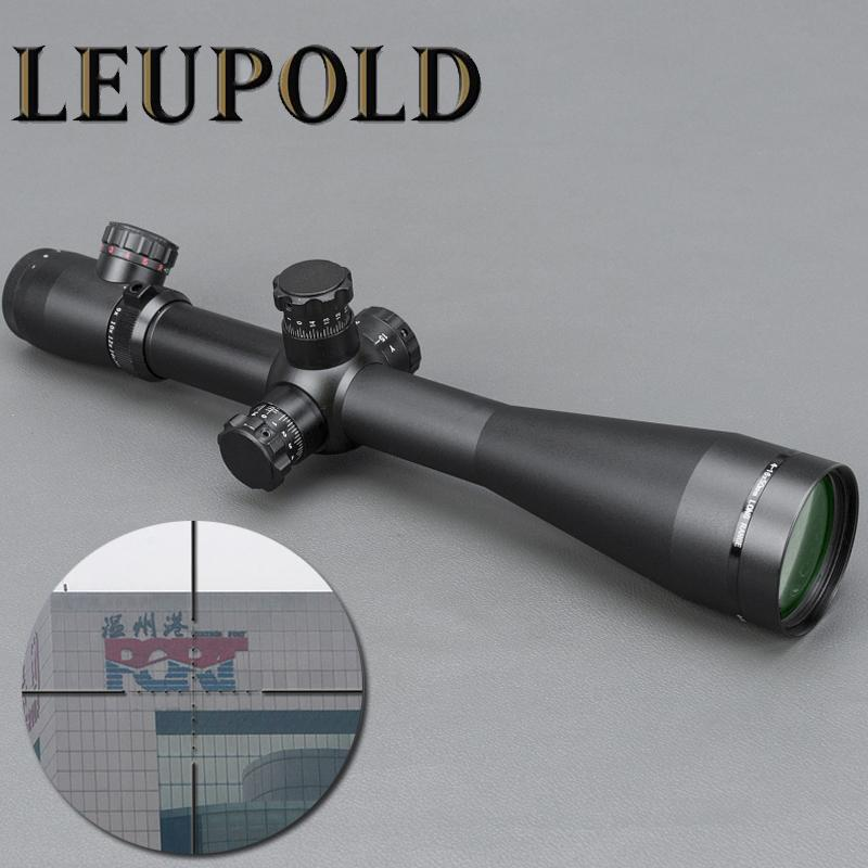 LEUPOLD M1 4-16X50 Red and Green Mil-dot Illuminated Tactical Rifle Scope  Sniper Scope For Air Rifle Hunting