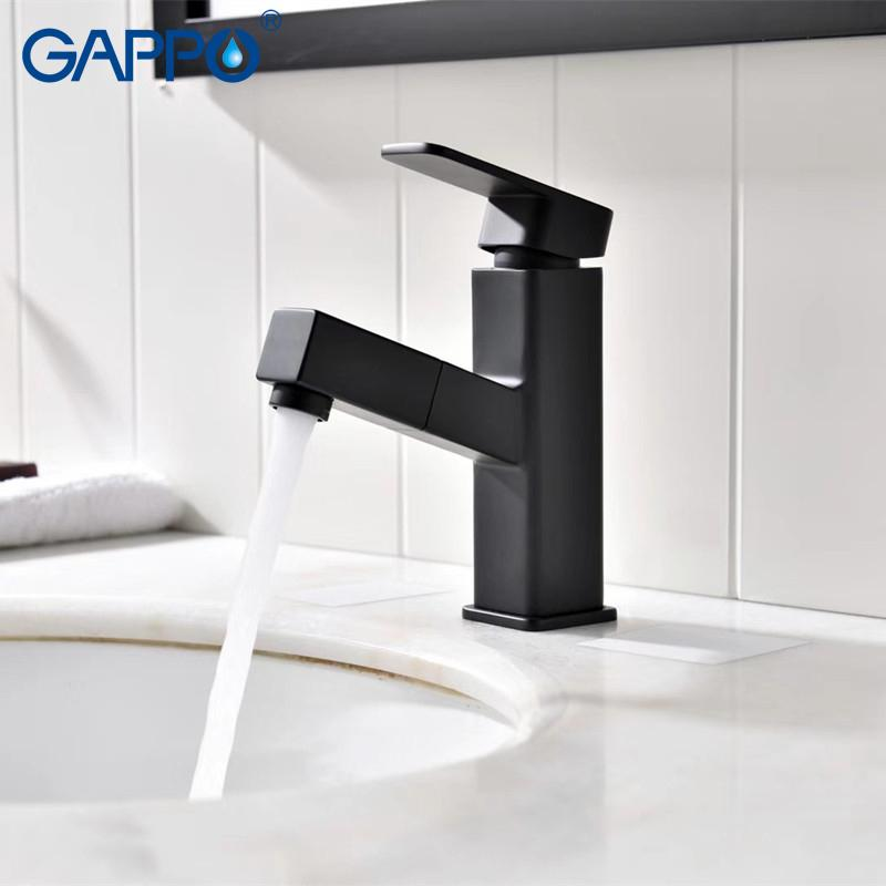 2018 Gappo Basin Faucet Bathroom Basin Mixer Taps Waterfall Faucet ...