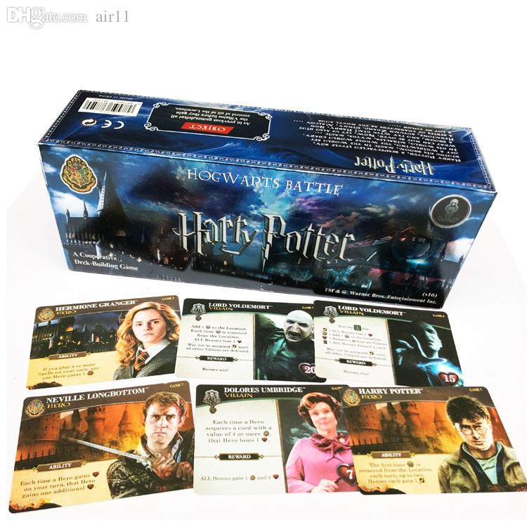 Compre 408 Unids Set Juego De Cartas En Ingles Harry Potter Juego