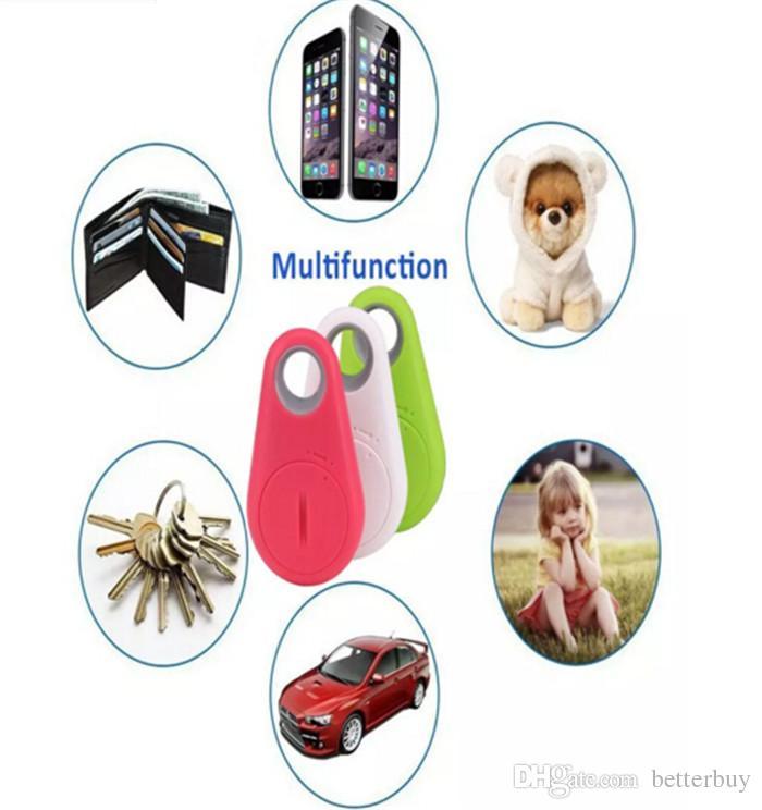 Heißer verkauf Mini Smart Finder Bluetooth Tracer Pet Kind GPS Locator Tag Alarm Brieftasche Schlüssel Tracker Hohe Qualität