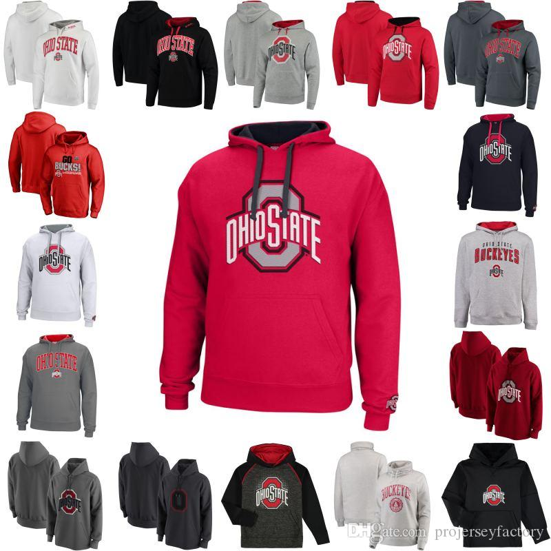 new concept dd053 6cf83 2019 Ohio State Buckeyes Alpha Fly Rush Half Zip Pullover Jacket Scarlet  High Quality Hooded And Velvet Sweater Long Sleev From Projerseyfactory, ...