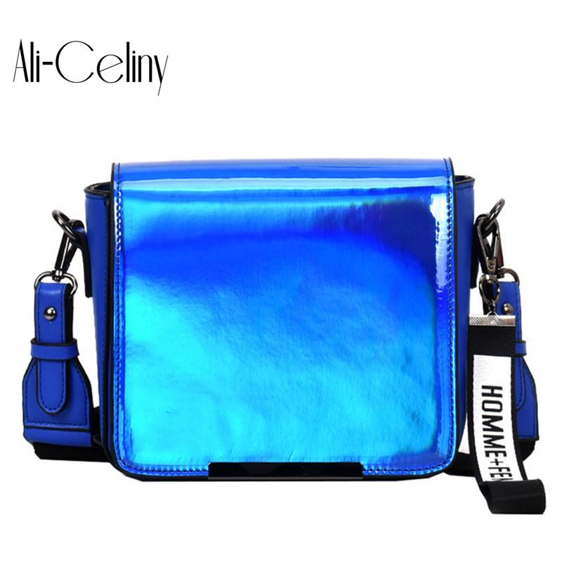 7a90dc1cd679 2018 HOT Fun Personalized Fashion Laser Shell Shape Chain Shoulder Bag Purse  Ladies Crossbody Handbag Mini Messenger Bag Flap Crossbody Handbag Chain ...