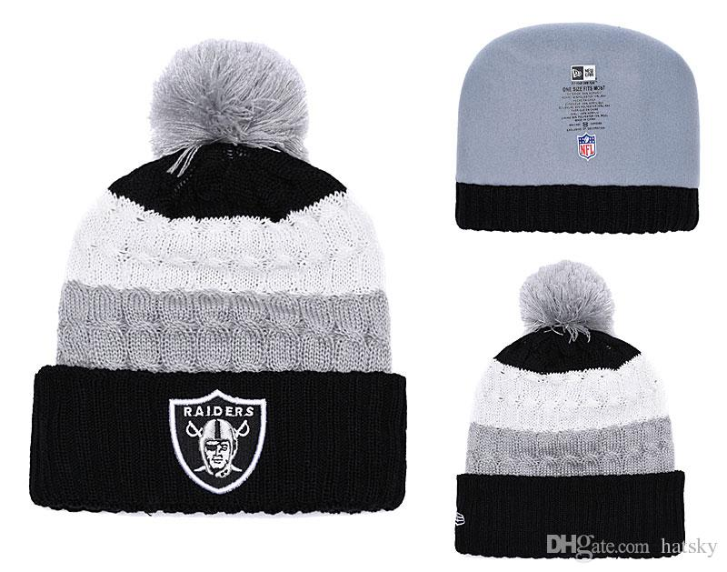 7bc62baaa57 New Fashion Unisex Teams Winter Hats 2017 Hot Sale USA FOOTBALL Teams  Casual Beanie Winter Hat Trilby Mens Hats From Hatsky