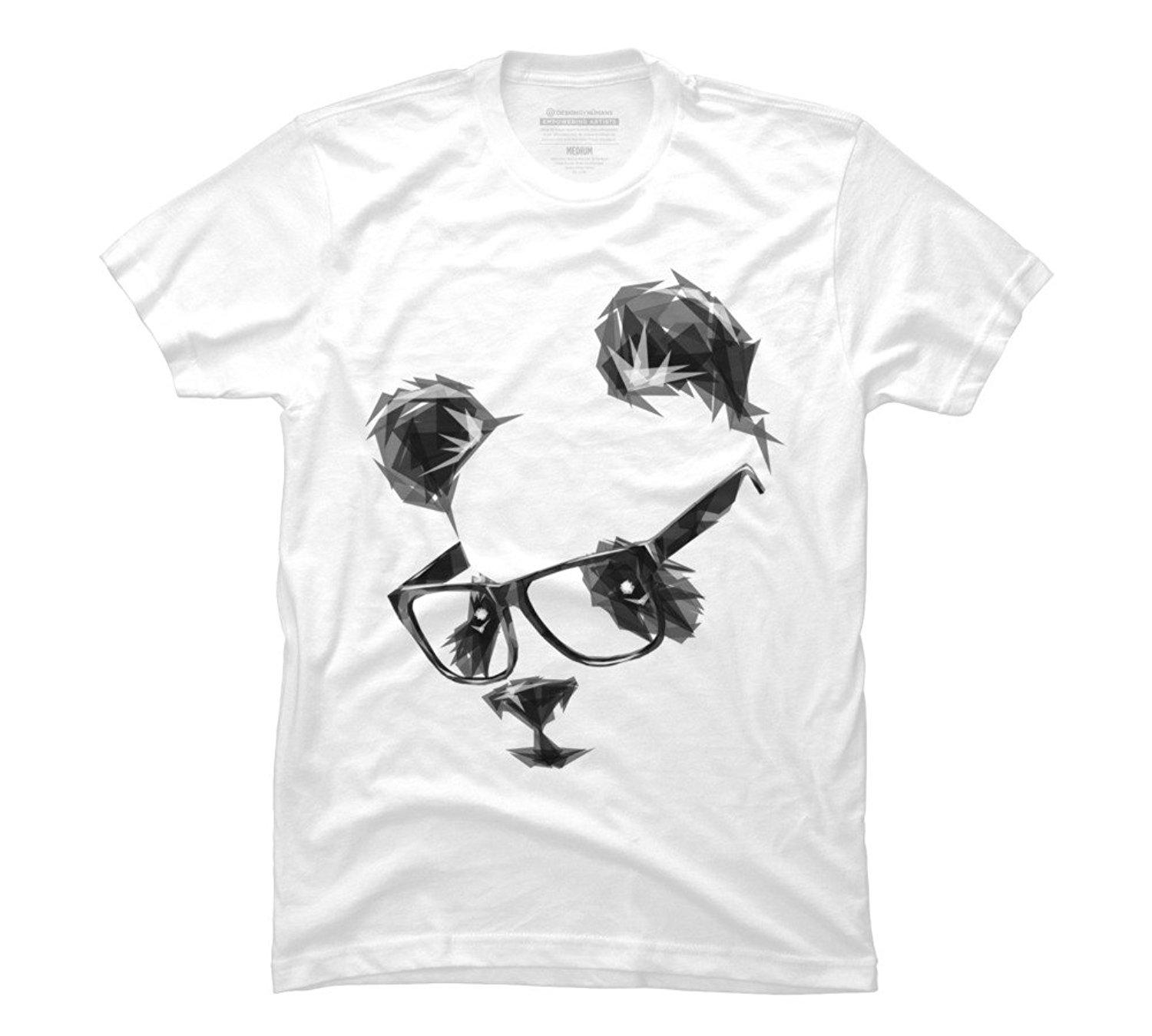 4ac8af7b277 Cool Panda Men s Graphic T Shirt - Design By Humans 100% Cotton T-Shirts  Brand Clothing Tops Tees Customize Plus Size