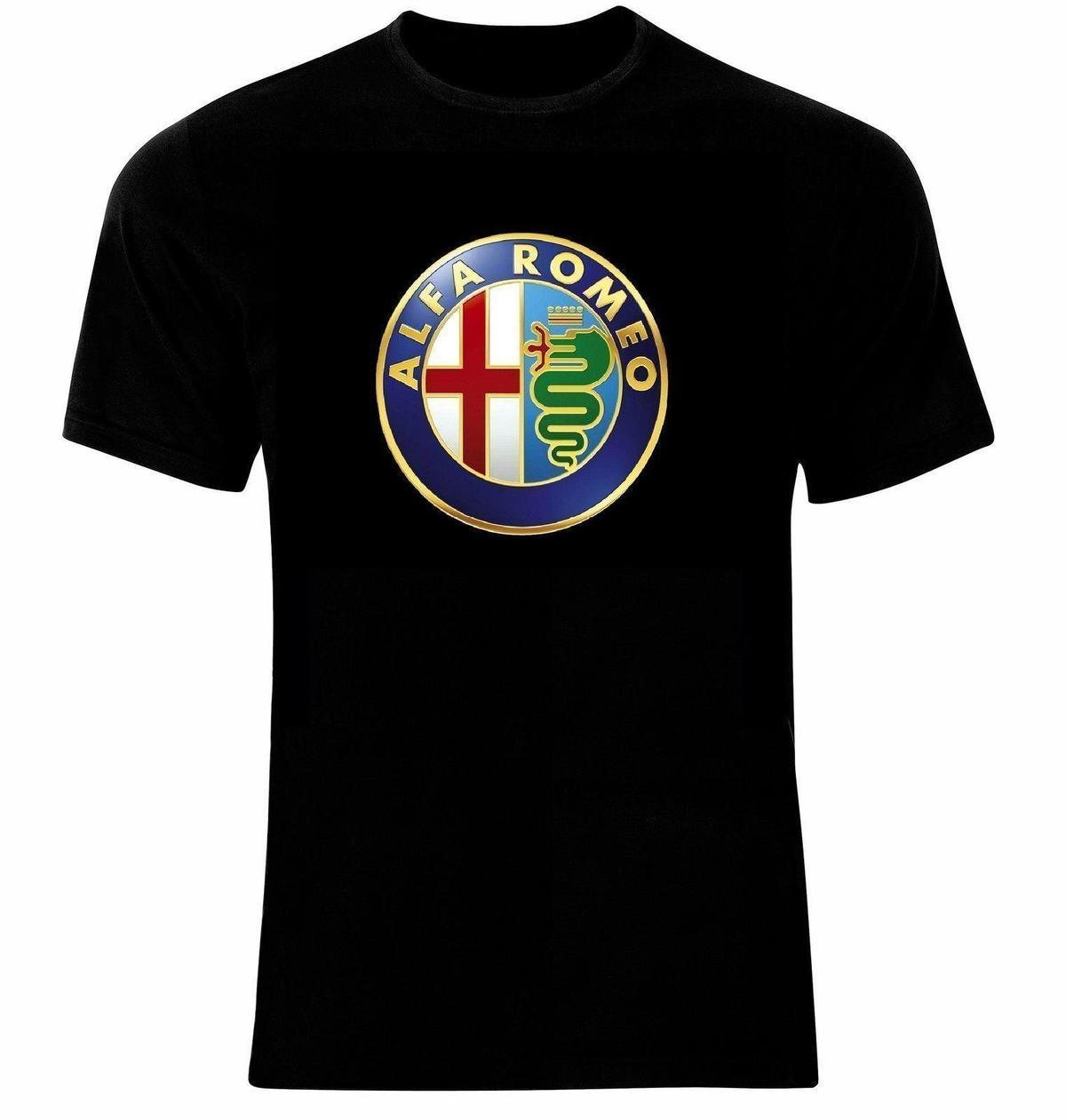 Alfa Romeo Logo Emblem Auto Moto T Shirt Site Online Tees Symbol From Linnan00009 1294