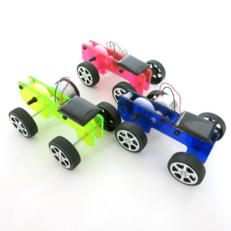 Diy Solar Toy Car Assembly Solar Car Mini Energy Powdered Toys