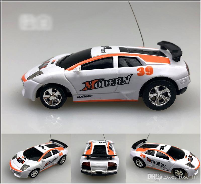 Free EMS New Mini-Racer Remote Control Car Coke Can Mini RC Radio Remote Control Micro Racing 1:64 Car 8803 B