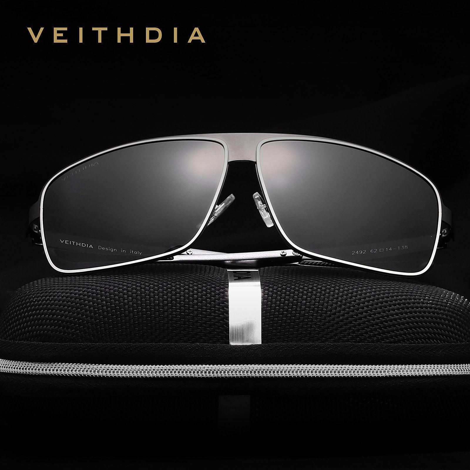 812501bac7 Men VEITHDIA Brand Sunglasses Fashion Stainless Steel Resist UV 400 Full  Frame Ultraviolet Proof Designer Glasses Without Box 31ws Hh John Lennon  Sunglasses ...