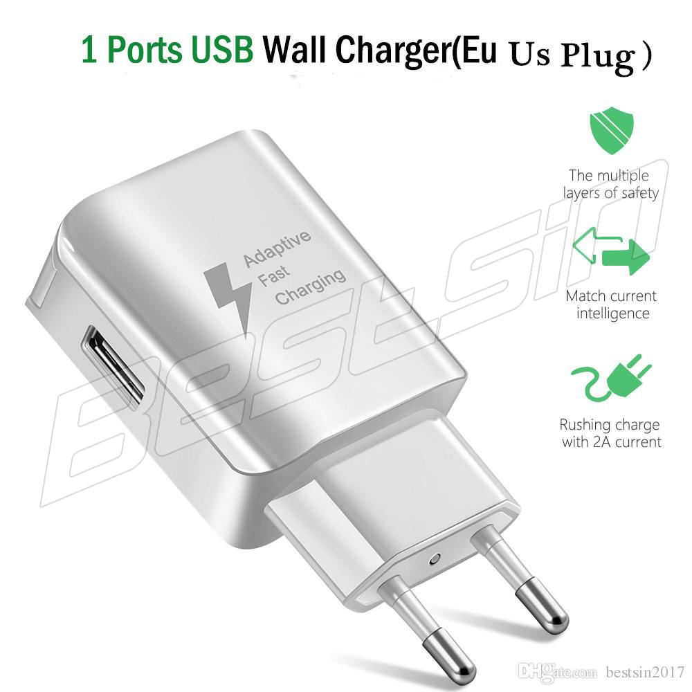 72f1edfdd72c83 Travel Wall Charger EP TP300 5V/2A 9V/1.67A Adaptive Fast Charging For  Samsung S6 S7 S8 With The LOGO Wireless Charging Station Wireless Phone  Charging From ...