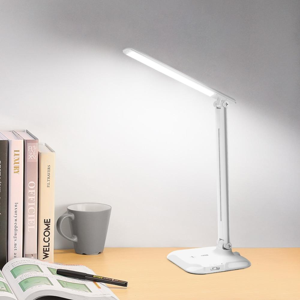 Fast Deliver Zyynew Simple Creative Led Eye Protection Table Lamps Reading Working Light Desk Lamp Pen Holder Lighting Soft For Study Bedroom Lights & Lighting Led Indoor Wall Lamps