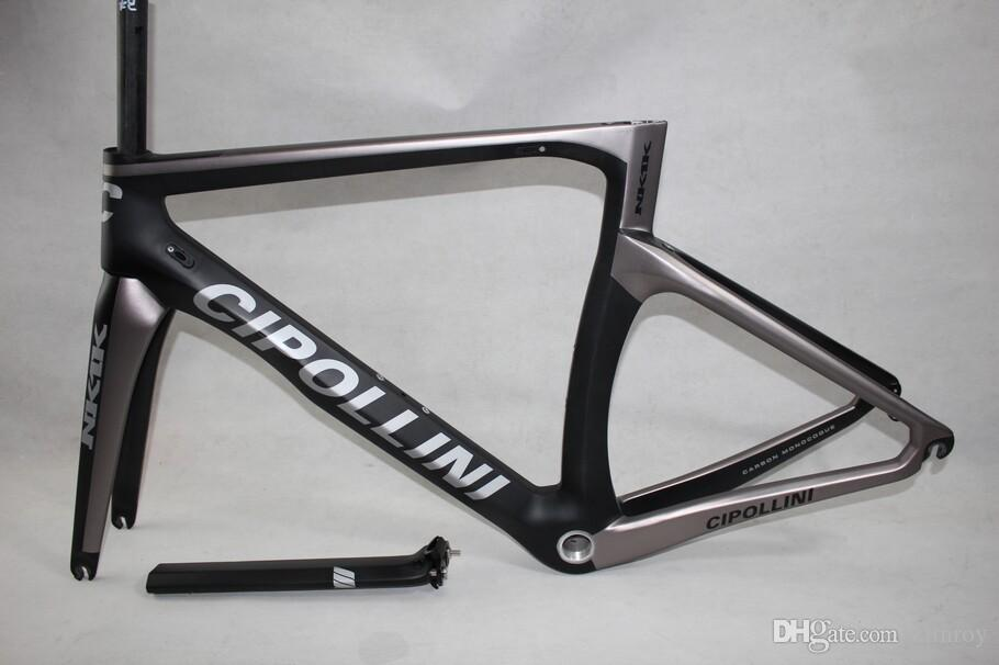 Sliver Cipollini NK1K metal Full Carbon Road Bike bicycle frame, fork, seatpost, headset, clamp XXS XS S M L