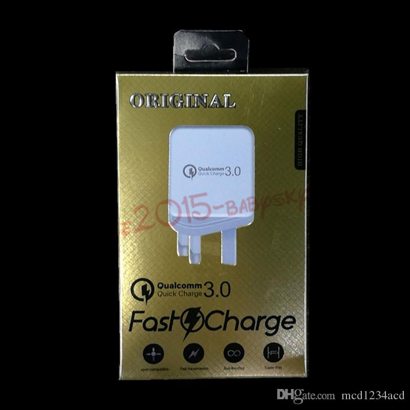fast charger QC 3.0 Adaptive Wall charger power adapter for samsung s8 s9 s10 htc android phone gps pc mp3