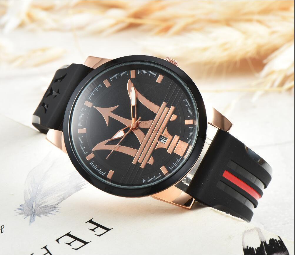 591670035d6 Compre Moda Itália Marca De Moda Maserati Silicone Casual DZ Assistir  VOLARE Mulheres Homens 42mm Busines Relógio De Quartzo Relógios De Pulso De  ...