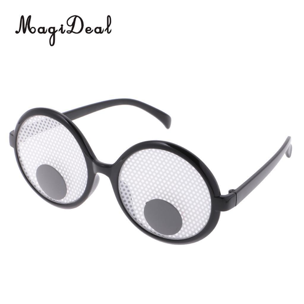 Novelty Googly Eyes Funny Joke Glasses Fancy Dress Party Novelty ...
