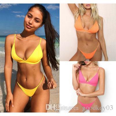a4108d41dbed38 2019 Bikini Swimwear 2018 New Brazilian Women Swimsuit Bandage ...