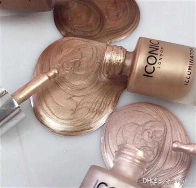 Hot icônico Londres Iluminador líquido bronzers highlighters 3 cores DHL grátis