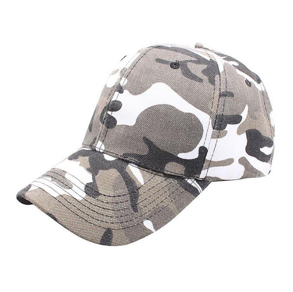 Camo Baseball Cap Men Women Tactical Cap Camouflage Snapback Hat Hip-Hop Caps Outdoor Sports Hunting Fishing Hat LJJO4223