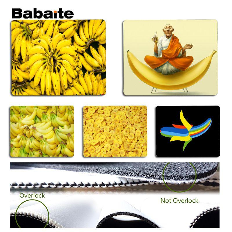 Babaite Cool New Banana Silicone Pad to Mouse Game Size for 18x22cm 25x29cm Rubber Mousemats