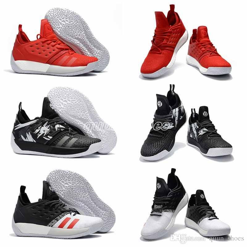 15ca63d4617b 2018 Hot Harden Vol.2 BHM Black History Month Mens Basketball Shoes Fashion  James Harden Shoes Outdoor Sports Training Sneakers Size 7 12 Sneakers Sale  ...