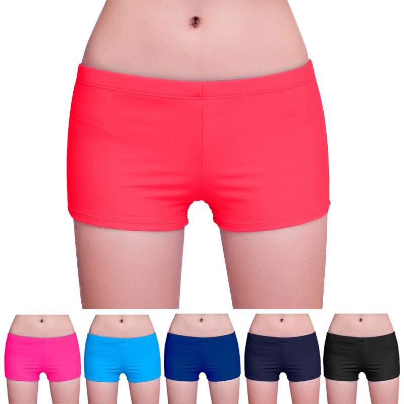 Mujeres Yoga Shorts Bikini Swimwear Bottom Summer Beach Wear Entrenamiento Running Pantalones XR-Hot