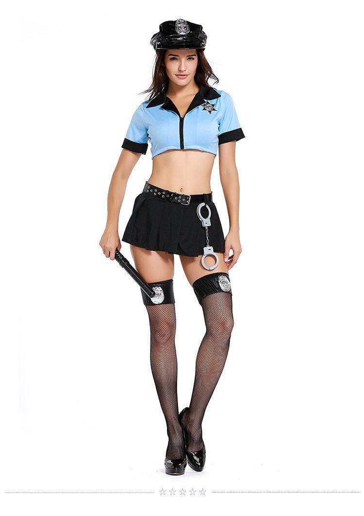 Acquista Poliziotta Sexy Poliziotta Costume Policewomen Cosplay Uniforme  Polizia Donne Fancy Dress Outfit Ragazze PS071 A  24.27 Dal Vanessa918  5b3d7311b3f6