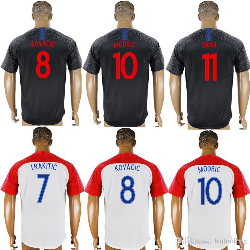 Camisetas De Fútbol 2018 Copa Del Mundo De Croacia RAZA BÁSICA PERISICA  Hrvatska LOVREN Luka Modric Voetbal Croazia Camisetas De Fútbol MANDZUKIC  Por ... 6ccd85bffe4bd