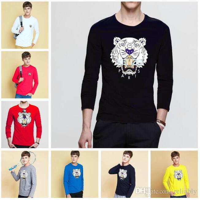 3253860b840 New Brand Tiger Head Printing Hoodie Men Women Sweatshirts Autumn ...