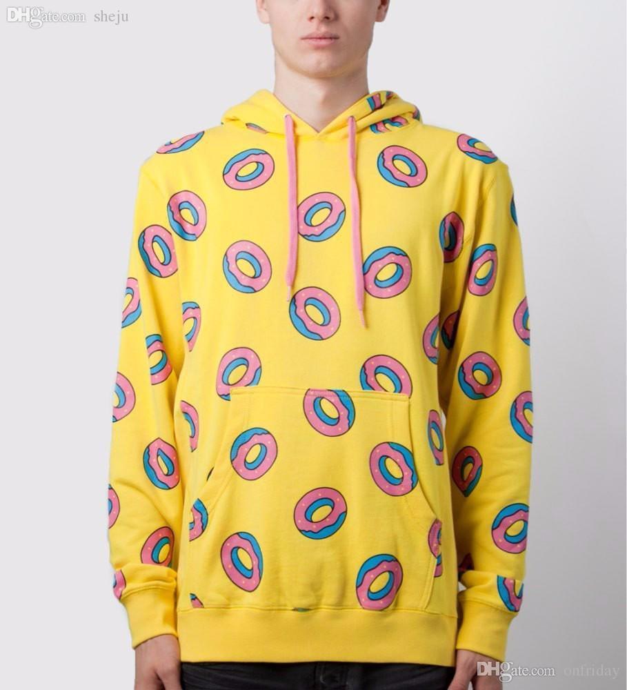 3606673250cc 2019 Wholesale Fashion Odd Future Ofwgkta Golfhat Shirt Sweatshirt Donut  Hoodie Unisex Hooded Hoodies Vestido Casual From Onfriday