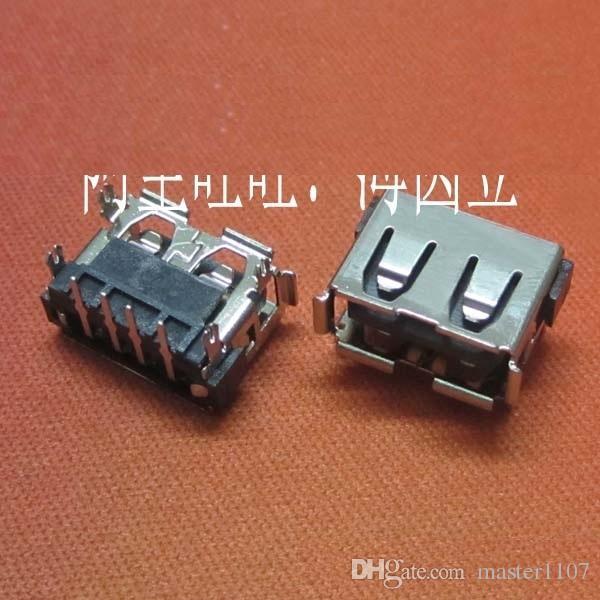 20 шт./лот новый женский USB порт короткий разъем разъем типа стандартный USB 2.0 разъем для Lenovo IdeaPad Y450 Y650 ноутбук материнская плата