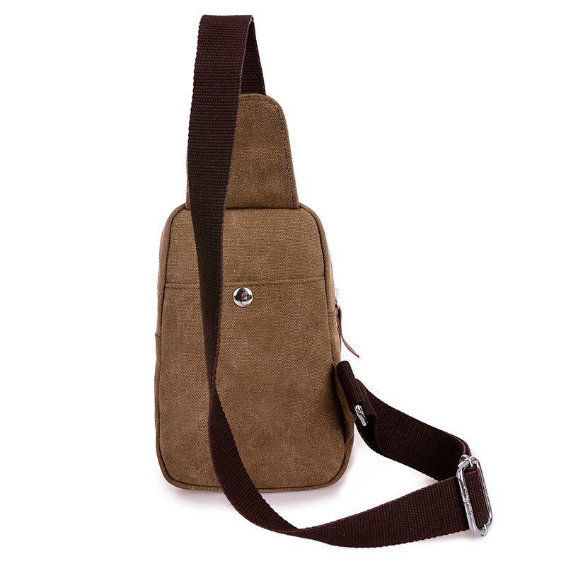 Bolsos de hombro de lona de los hombres de ocio pequeñas bolsas cruzadas para hombres Bolsas de mensajero para mujeres