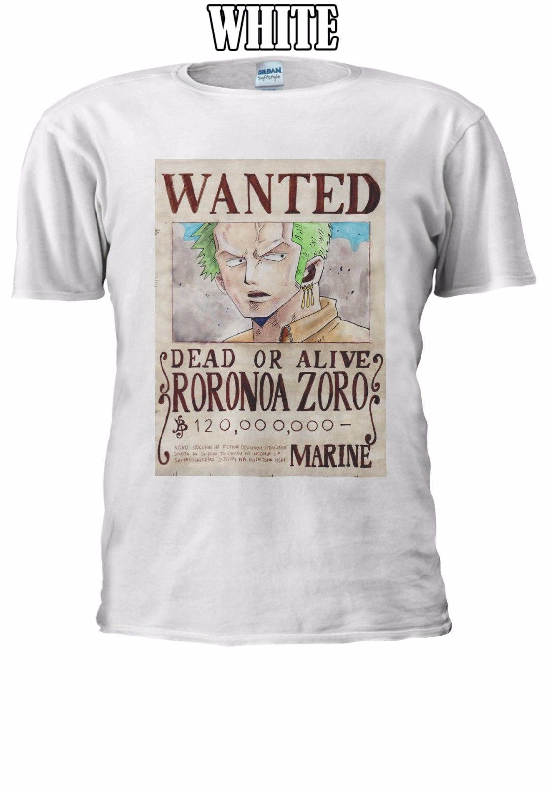 13bcd1cf70b9b9 One Piece Wanted Roronoa Zoro T Shirt Vest Tank Top Men Women Unisex Cool  Casual Pride T Shirt Men Unisex New Fashion Tshirt Cartoon T Shirts Urban T  Shirts ...